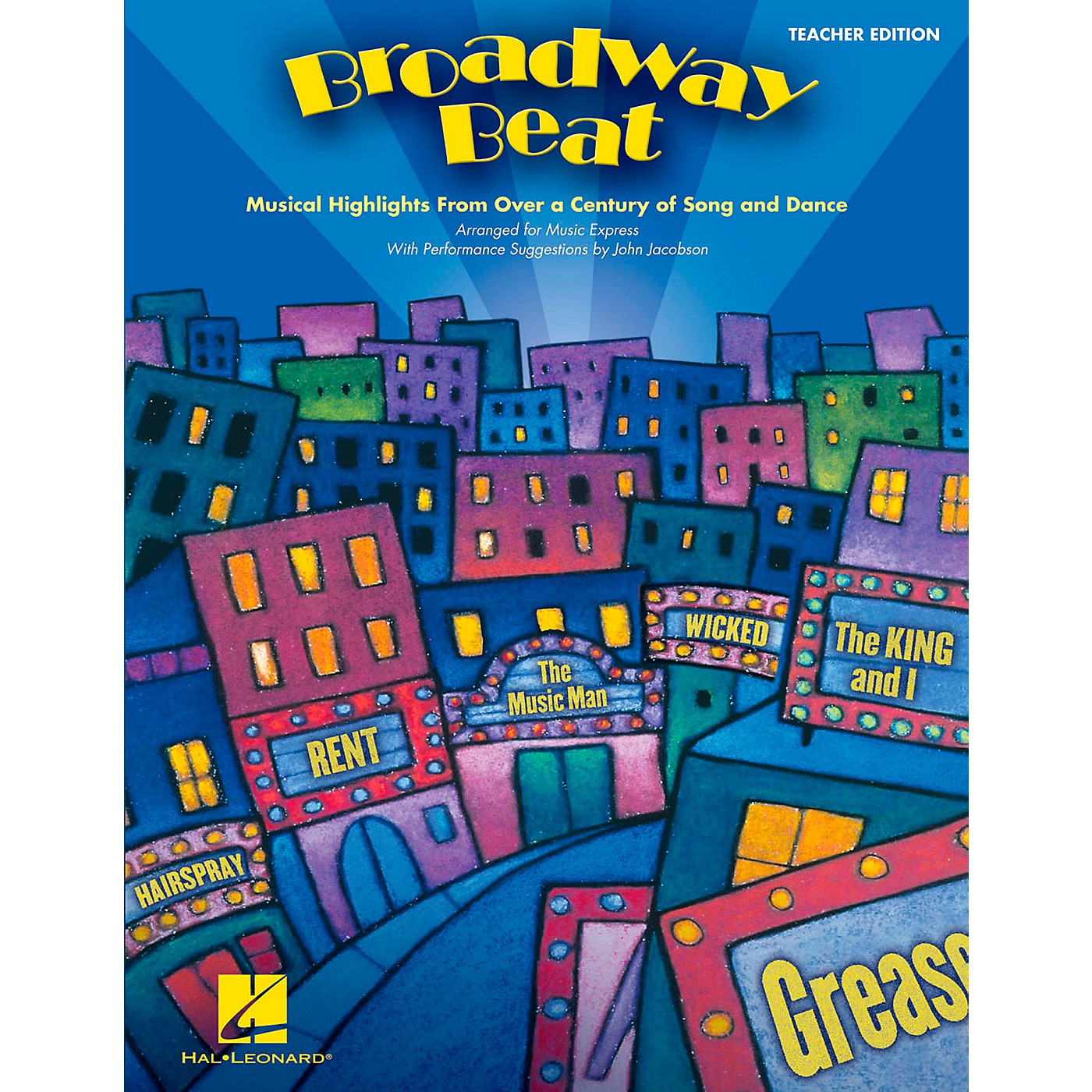 Hal Leonard Broadway Beat - Musical Highlights from Over a Century of Song and Dance Teacher's Edition thumbnail