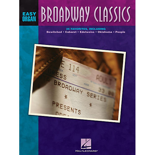 Hal Leonard Broadway Classics Easy Organ Adventure Series thumbnail