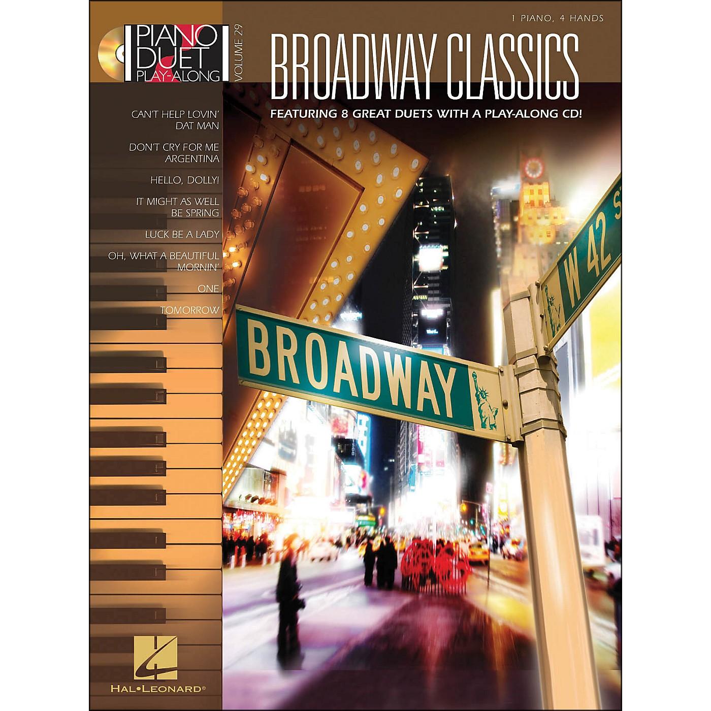 Hal Leonard Broadway Classics Piano Duet Play-Along Volume 29 Book/CD thumbnail