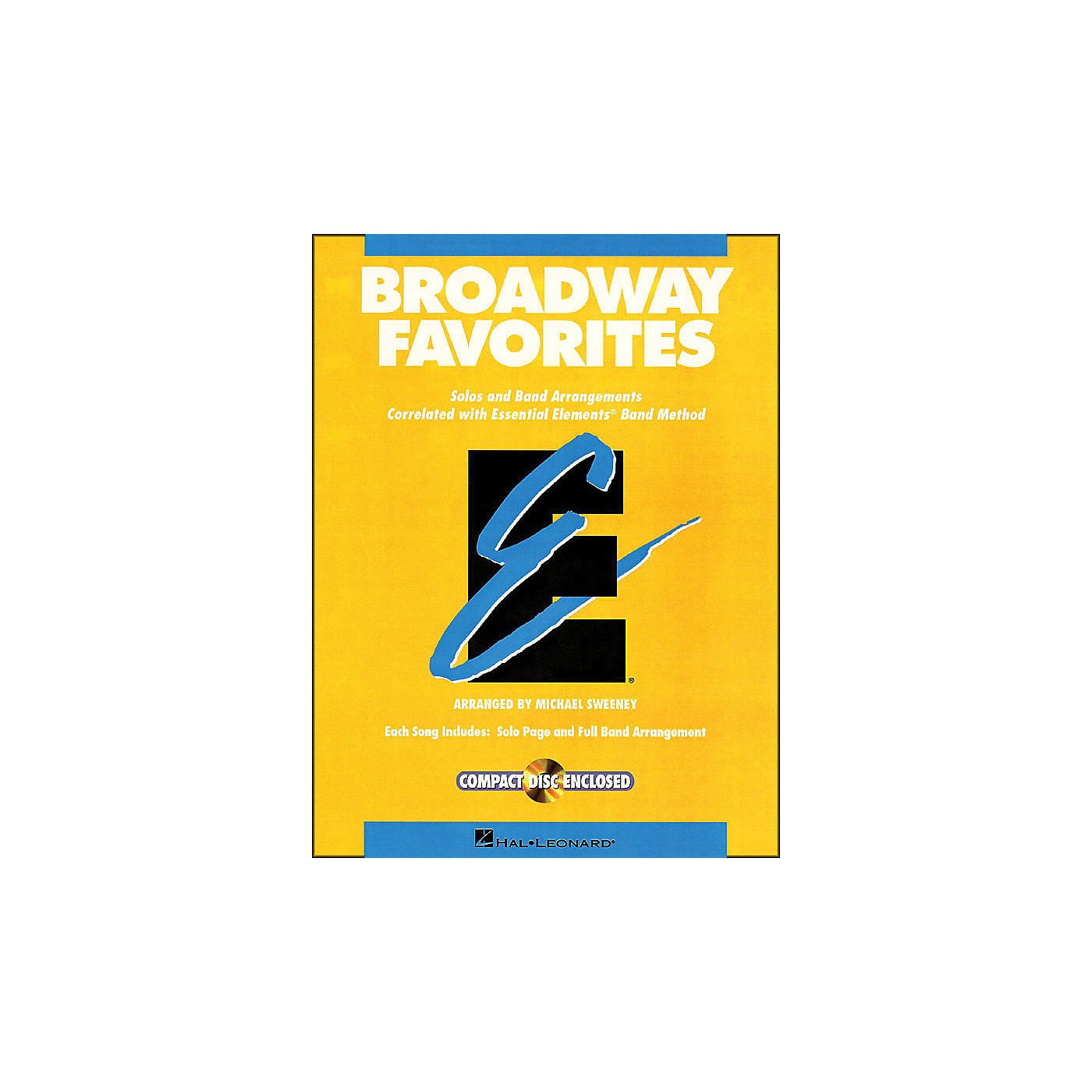 Hal Leonard Broadway Favorites Baritone B.C. Essential Elements Band thumbnail