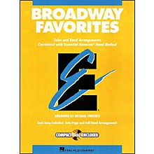 Hal Leonard Broadway Favorites Bass Clarinet Essential Elements Band