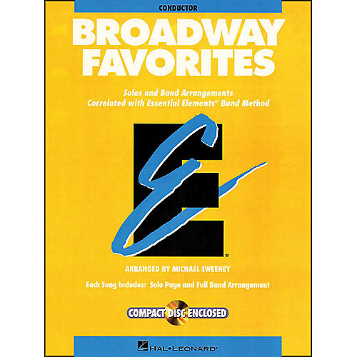 Hal Leonard Broadway Favorites Conductor Essential Elements Band Conductor Book/CD thumbnail
