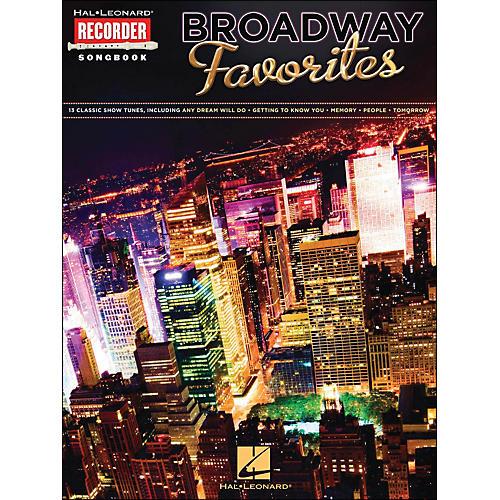 Hal Leonard Broadway Favorites Recorder Songbook thumbnail