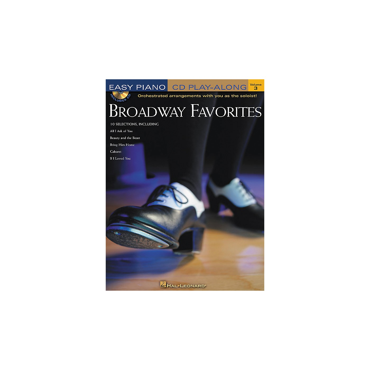 Hal Leonard Broadway Favorites Volume 3 Book/CD Easy Piano CD Play-Along thumbnail