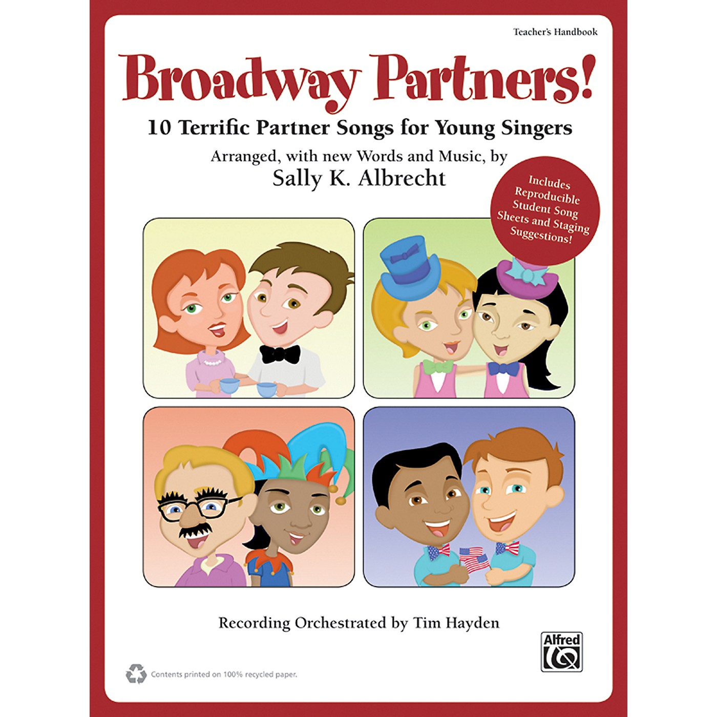 Alfred Broadway Partners! A Jolly Holiday Songbook (Book/CD) thumbnail