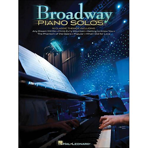 Hal Leonard Broadway Piano Solos thumbnail
