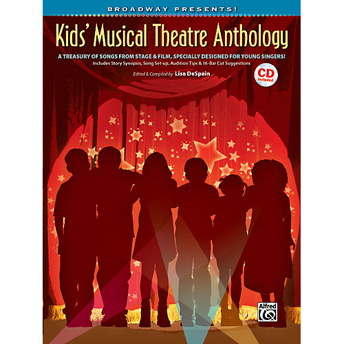 Alfred Broadway Presents! Kids' Musical Theatre Anthology Book & CD thumbnail