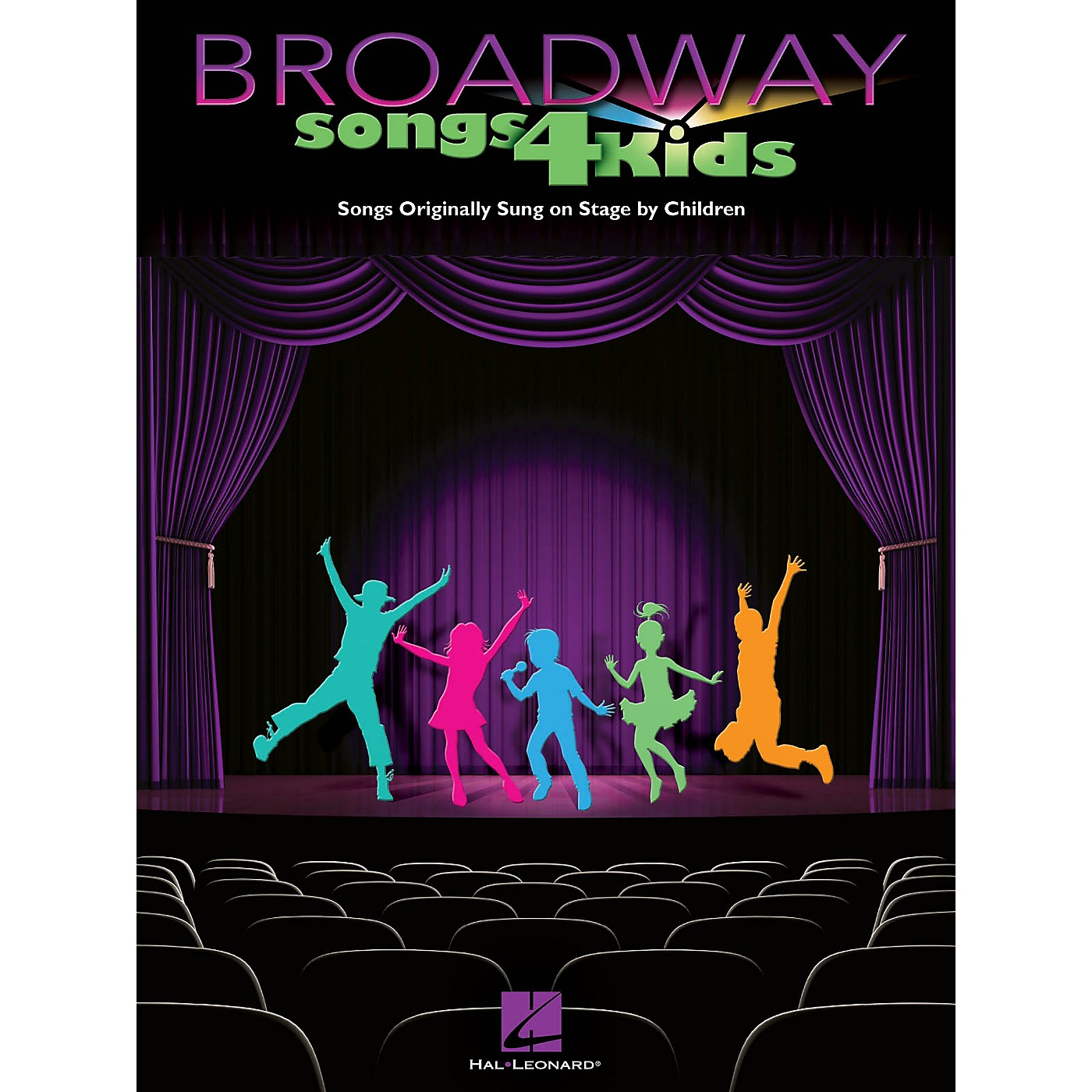 Hal Leonard Broadway Songs for Kids Piano/Vocal/Guitar Songbook Series Softcover thumbnail