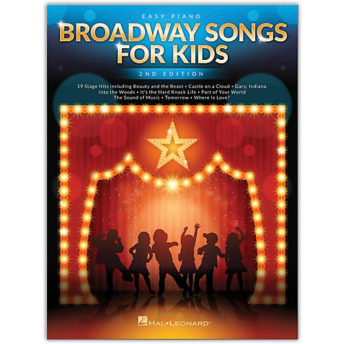 Hal Leonard Broadway Songs for Kids for Easy Piano - 2nd Edition thumbnail