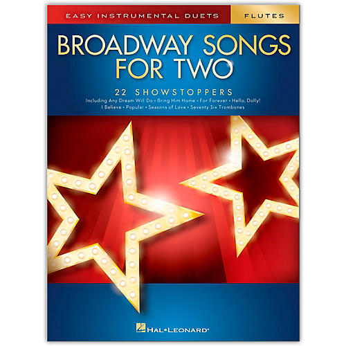 Hal Leonard Broadway Songs for Two Flutes - Easy Instrumental Duets thumbnail