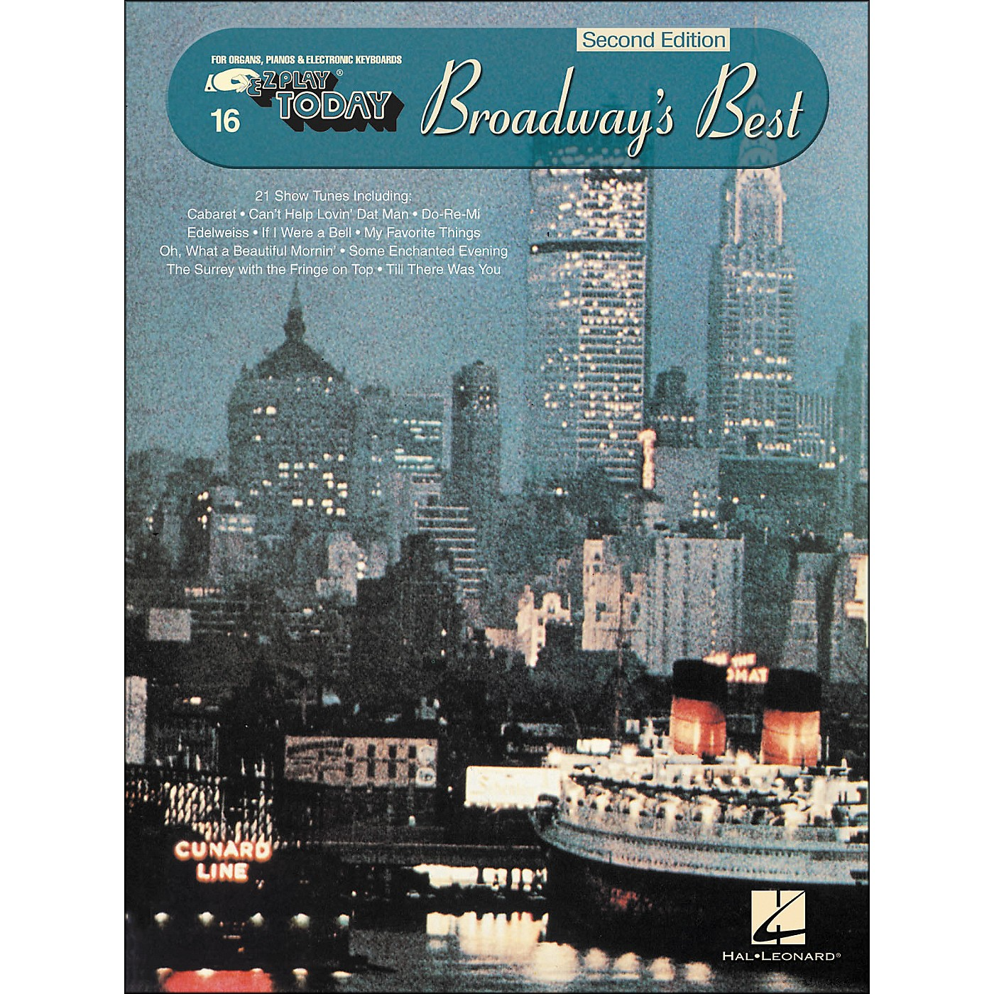 Hal Leonard Broadway's Best 2nd Edition E-Z Play 16 thumbnail