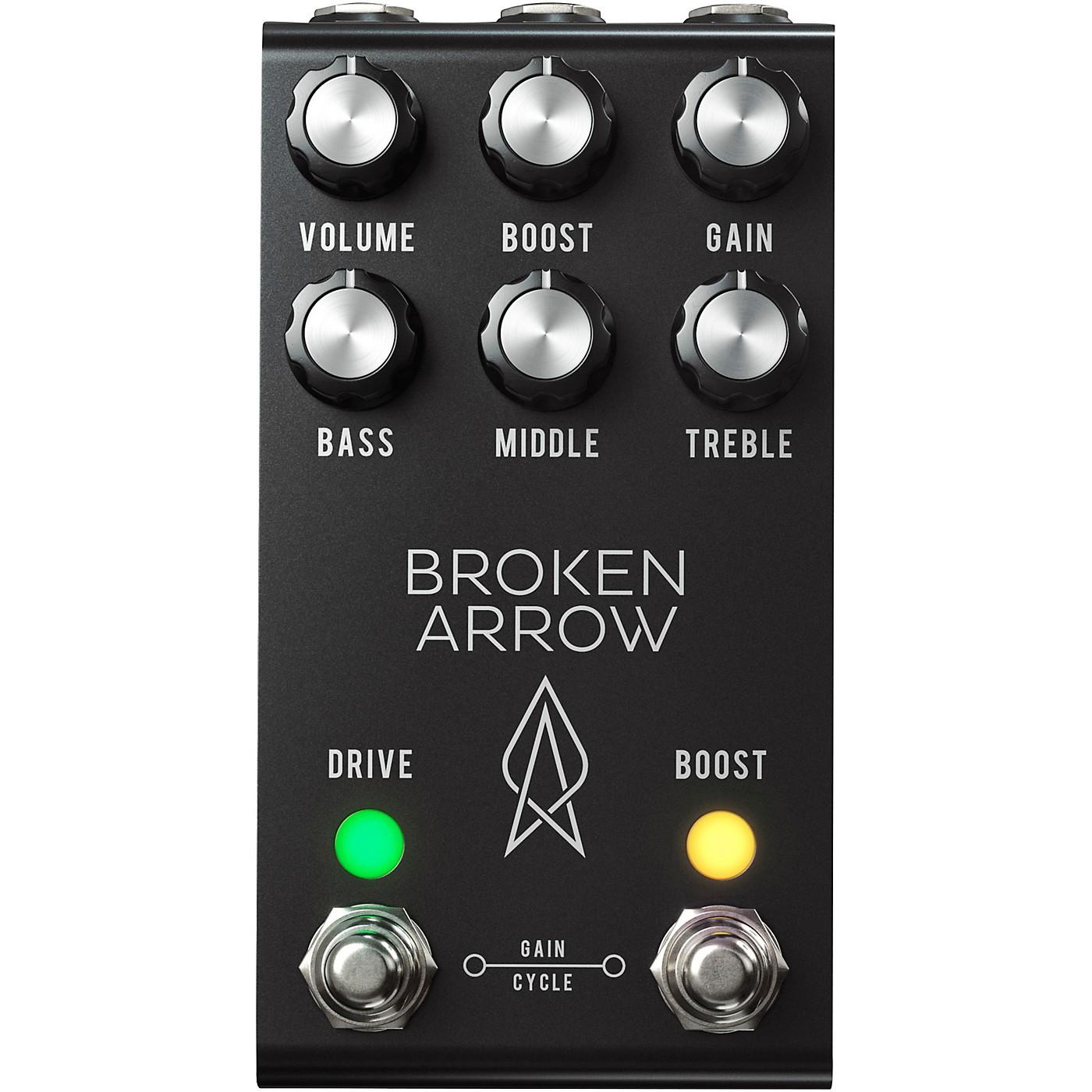 Jackson Audio Broken Arrow v2 Overdrive Effects Pedal - Black thumbnail