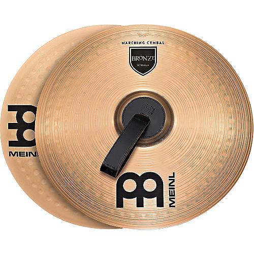 Meinl Bronze Marching Medium Cymbal Pair thumbnail
