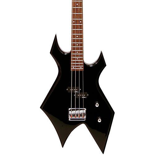 B.C. Rich Bronze Warlock Electric Bass Guitar-thumbnail