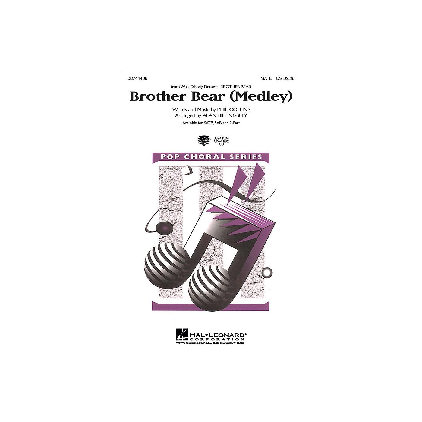 Hal Leonard Brother Bear (Medley) ShowTrax CD Arranged by Alan Billingsley thumbnail