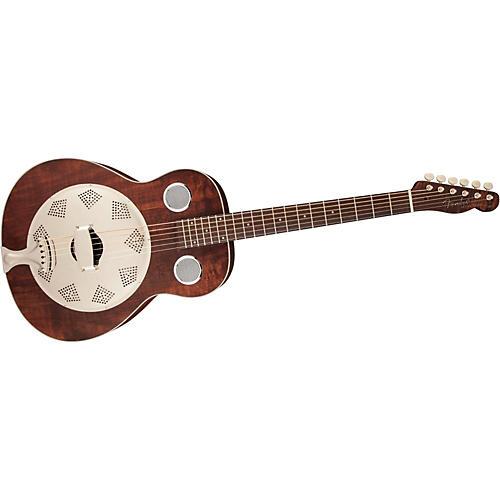 Fender Brown Derby Resonator Guitar thumbnail