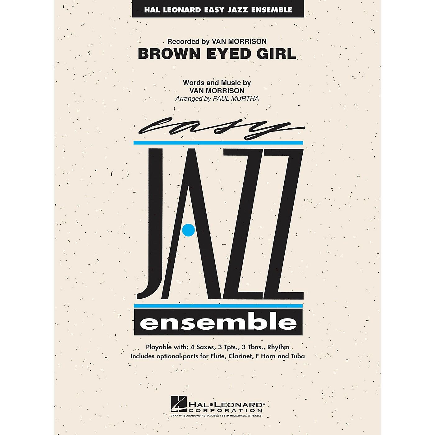 Hal Leonard Brown Eyed Girl Jazz Band Level 2 Arranged by Paul Murtha thumbnail