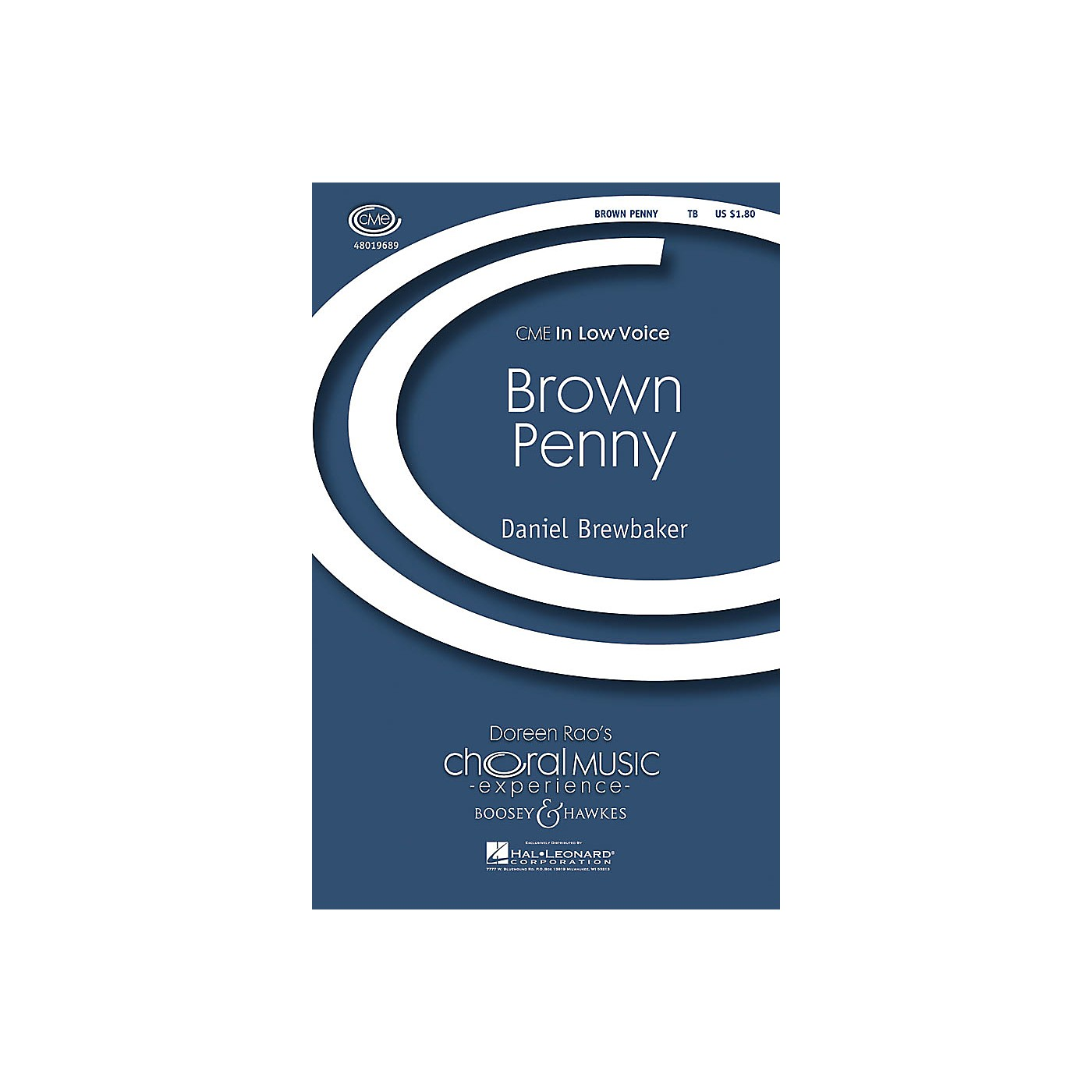 Boosey and Hawkes Brown Penny (CME In Low Voice) TB composed by Daniel Brewbaker thumbnail