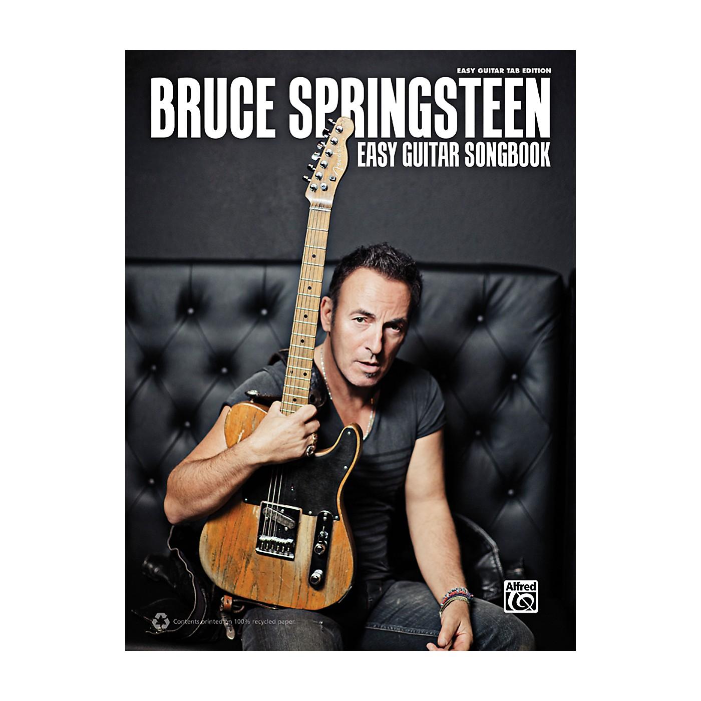 Alfred Bruce Springsteen - Easy Guitar TAB Songbook thumbnail