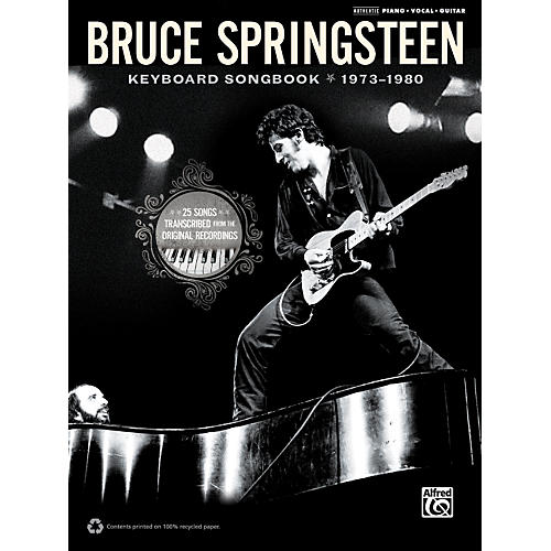 Alfred Bruce Springsteen - Keyboard Songbook 1973-1980 thumbnail