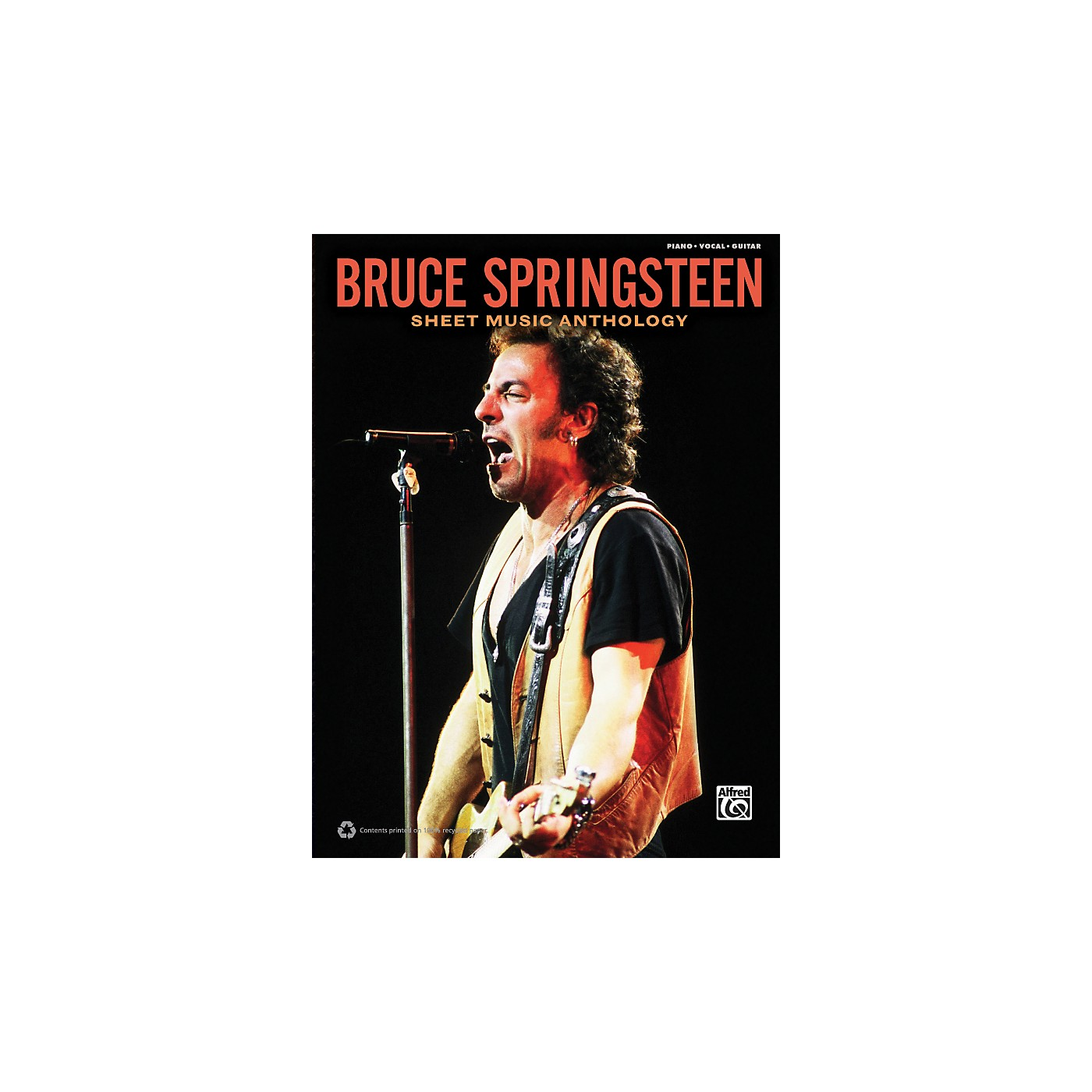 Alfred Bruce Springsteen - Sheet Music Anthology Book thumbnail