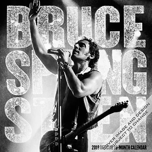 Browntrout Publishing Bruce Springsteen 2019 Calendar thumbnail