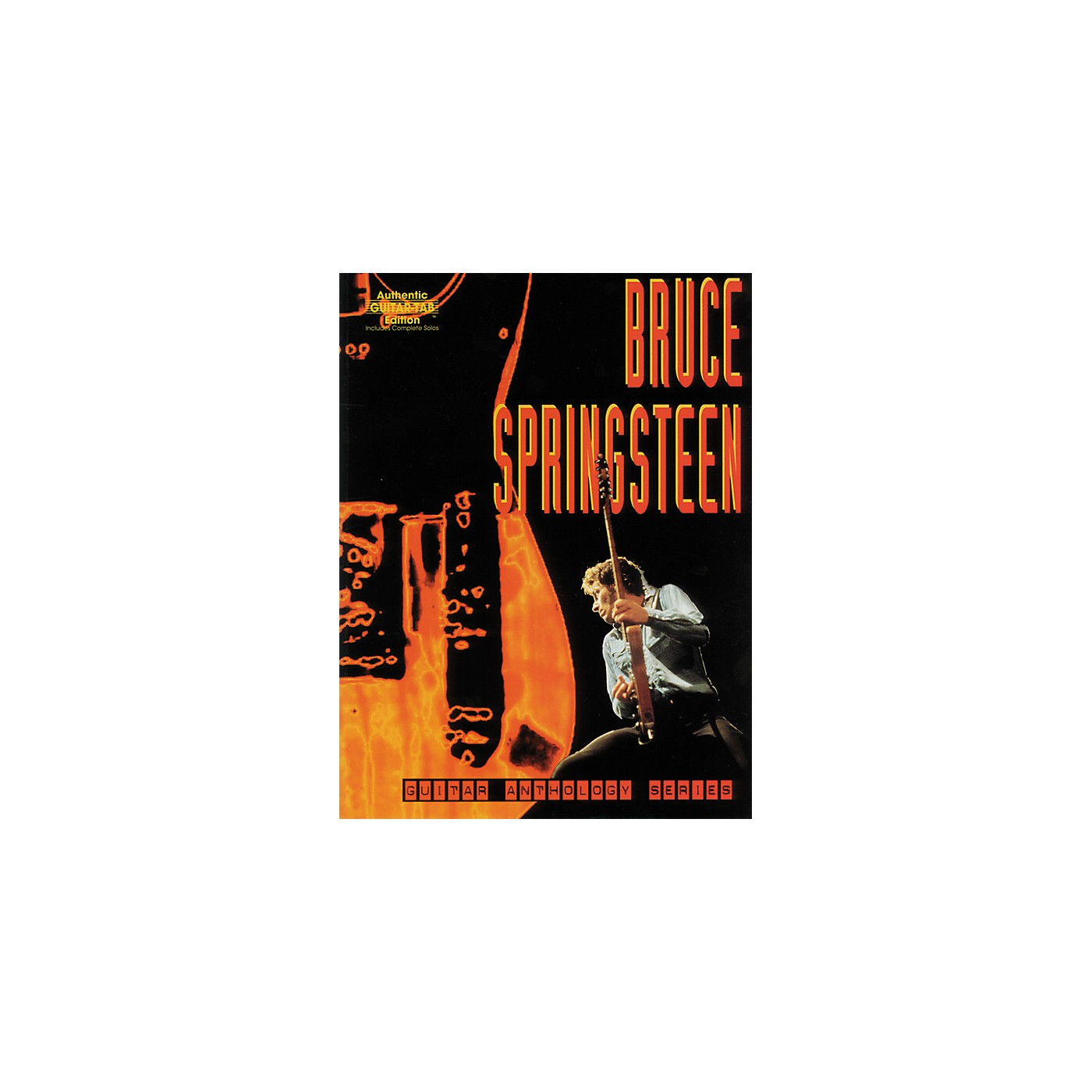 Alfred Bruce Springsteen Anthology Series Guitar Tab Book thumbnail