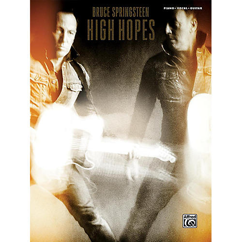 Alfred Bruce Springsteen High Hopes PVC Book thumbnail