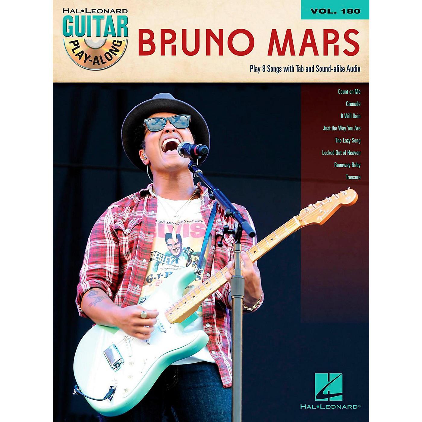 Hal Leonard Bruno Mars - Guitar Play-Along Volume 180 Book/Audio Online thumbnail