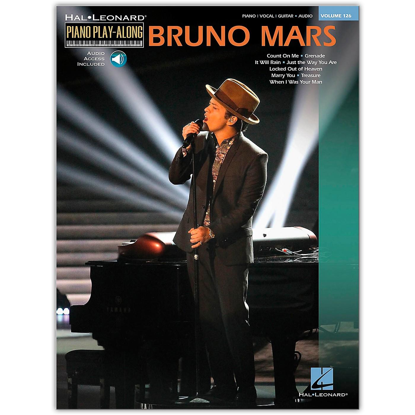 Hal Leonard Bruno Mars - Piano Play-Along Volume 126 Book/Online Audio thumbnail