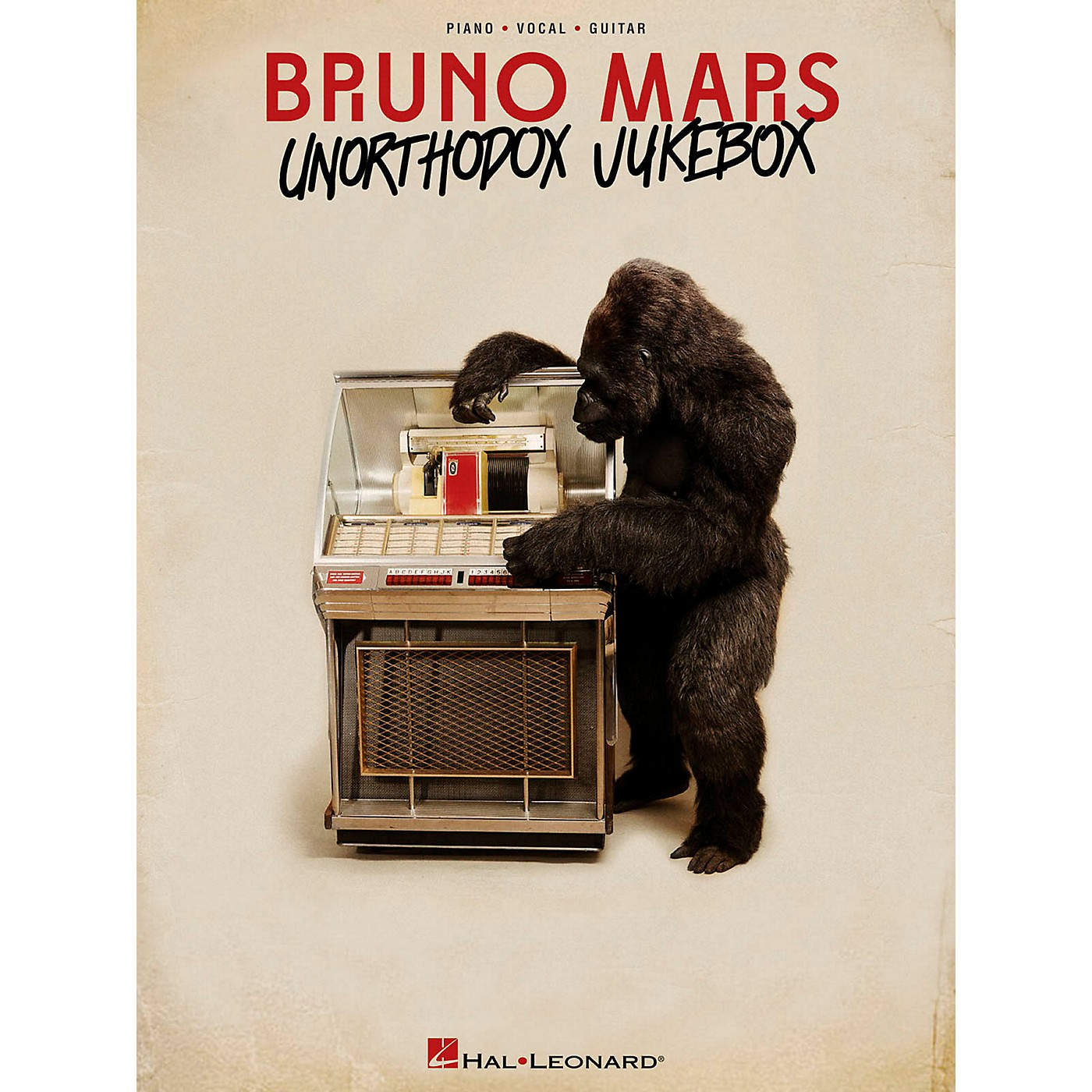 Hal Leonard Bruno Mars - Unorthodox Jukebox for Piano/Vocal/Guitar (PVG) thumbnail