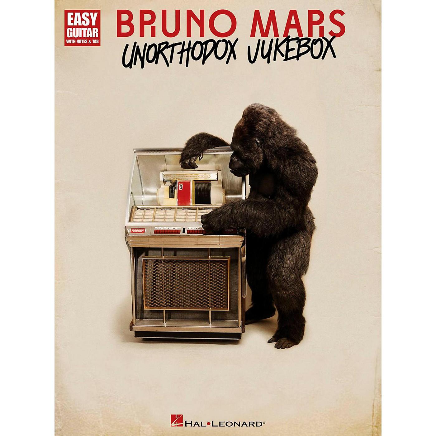 Hal Leonard Bruno Mars Unorthodox Jukebox for Easy Guitar Tab thumbnail