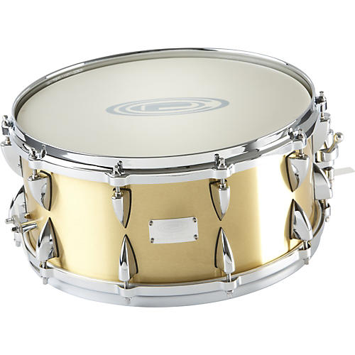 Orange County Drum & Percussion Brushed Bell Brass Snare Drum-thumbnail