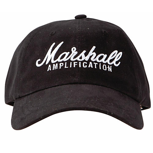 Marshall Brushed Cotton Low Profile Baseball Cap thumbnail