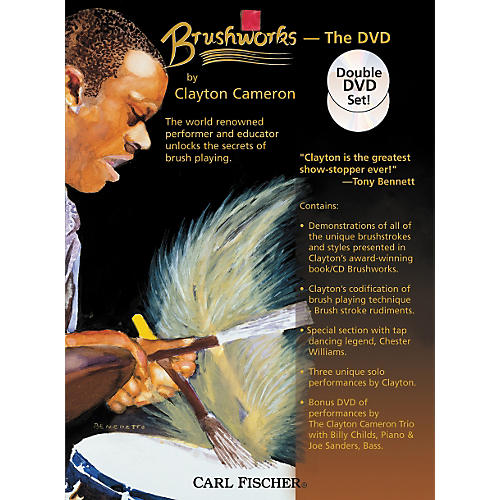 Carl Fischer Brushworks the DVD by Clayton Cameron thumbnail
