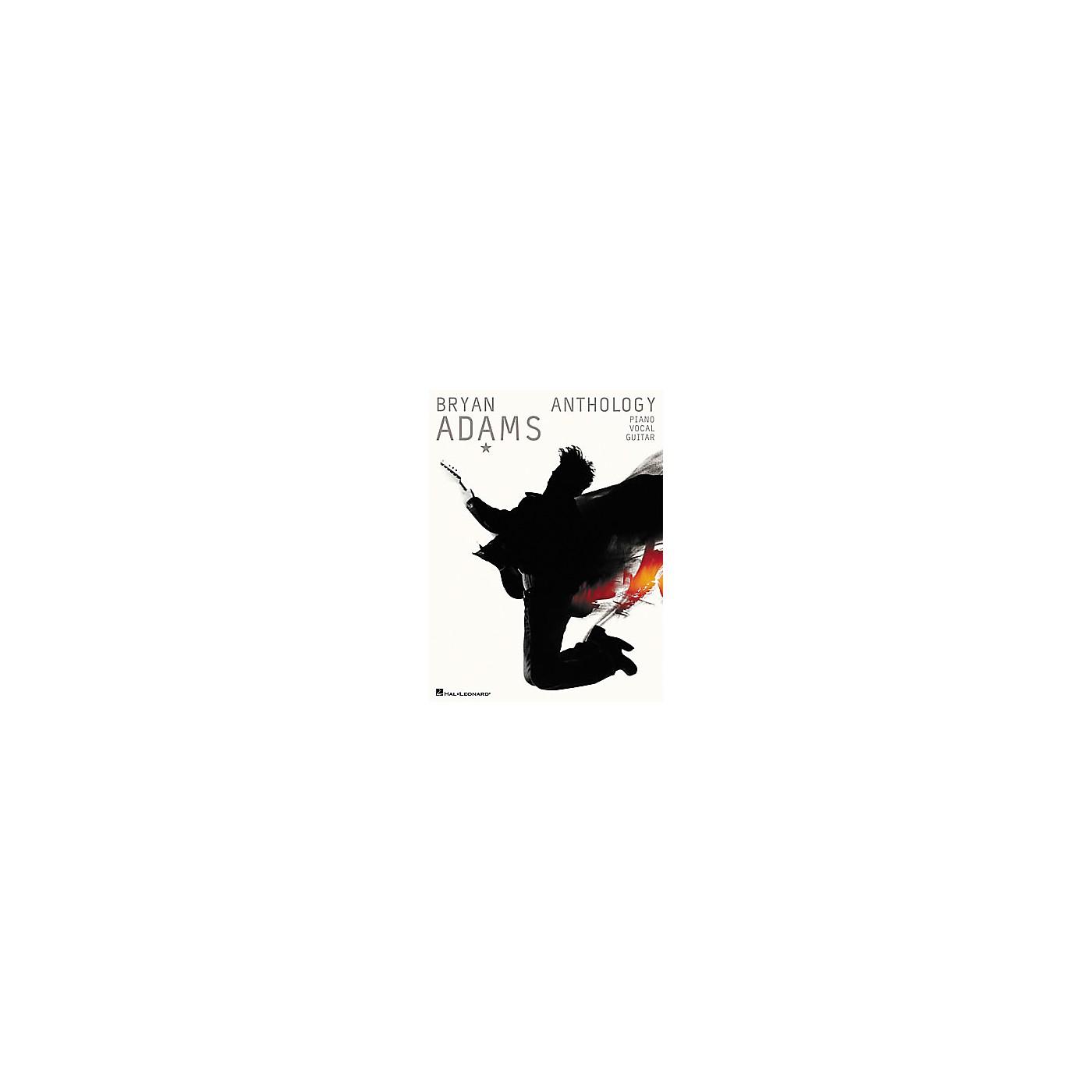 Hal Leonard Bryan Adams Anthology Book thumbnail