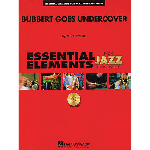 Hal Leonard Bubbert Goes Undercover Jazz Band Level 1.5 Arranged by Mike Steinel thumbnail