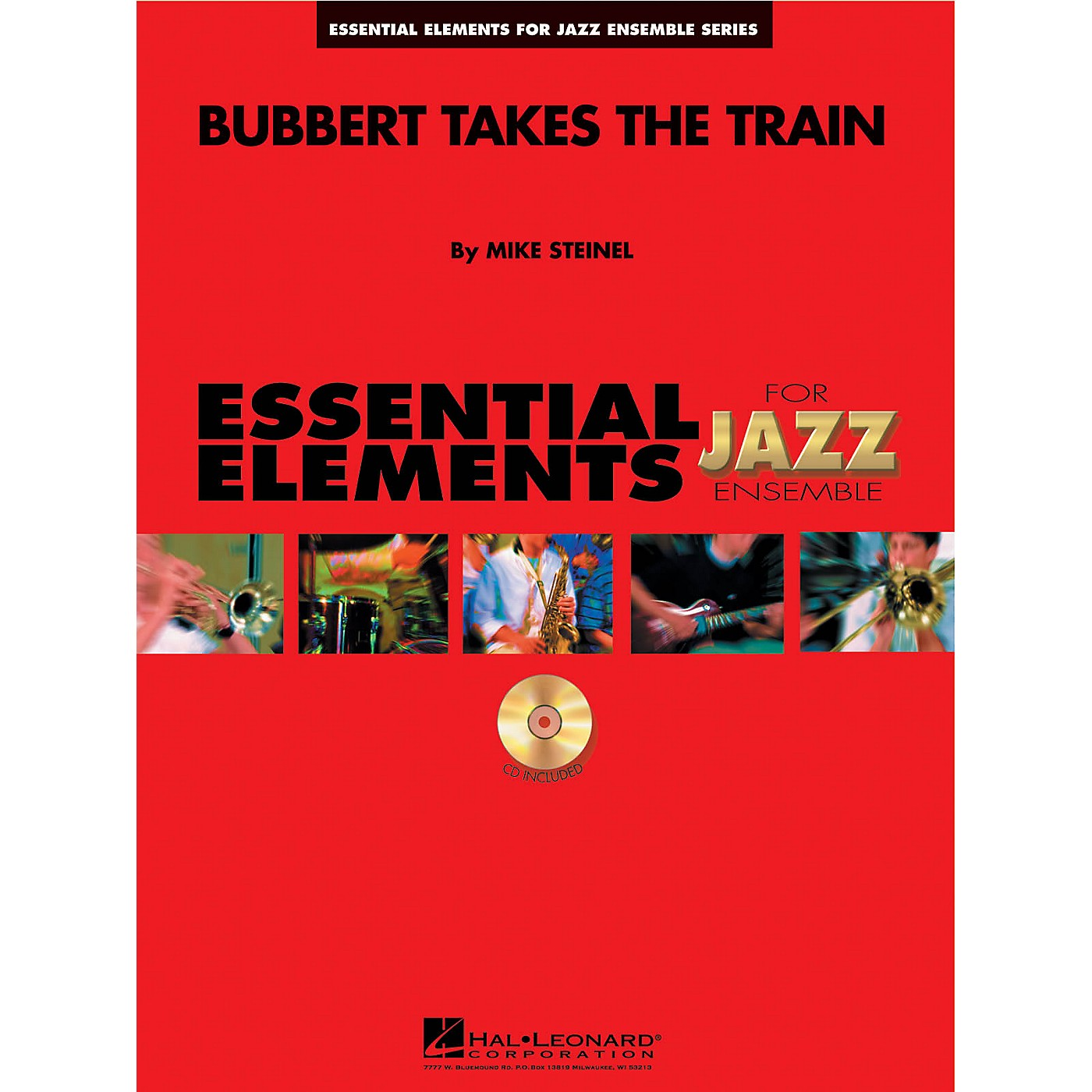 Hal Leonard Bubbert Takes the Train Jazz Band Level 1-2 Composed by Mike Steinel thumbnail