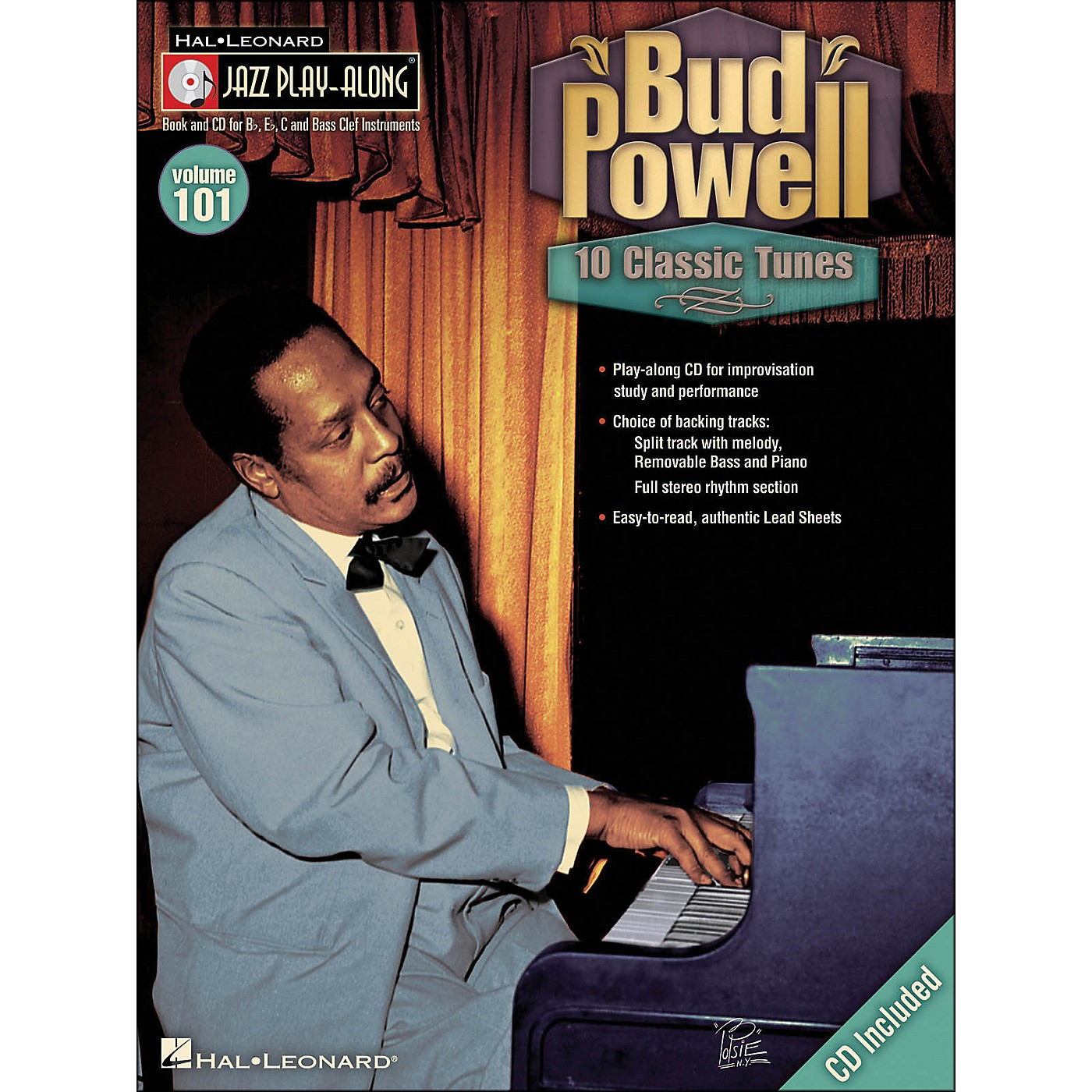 Hal Leonard Bud Powell - Jazz Play-Along Volume 101 (CD/Pkg) thumbnail