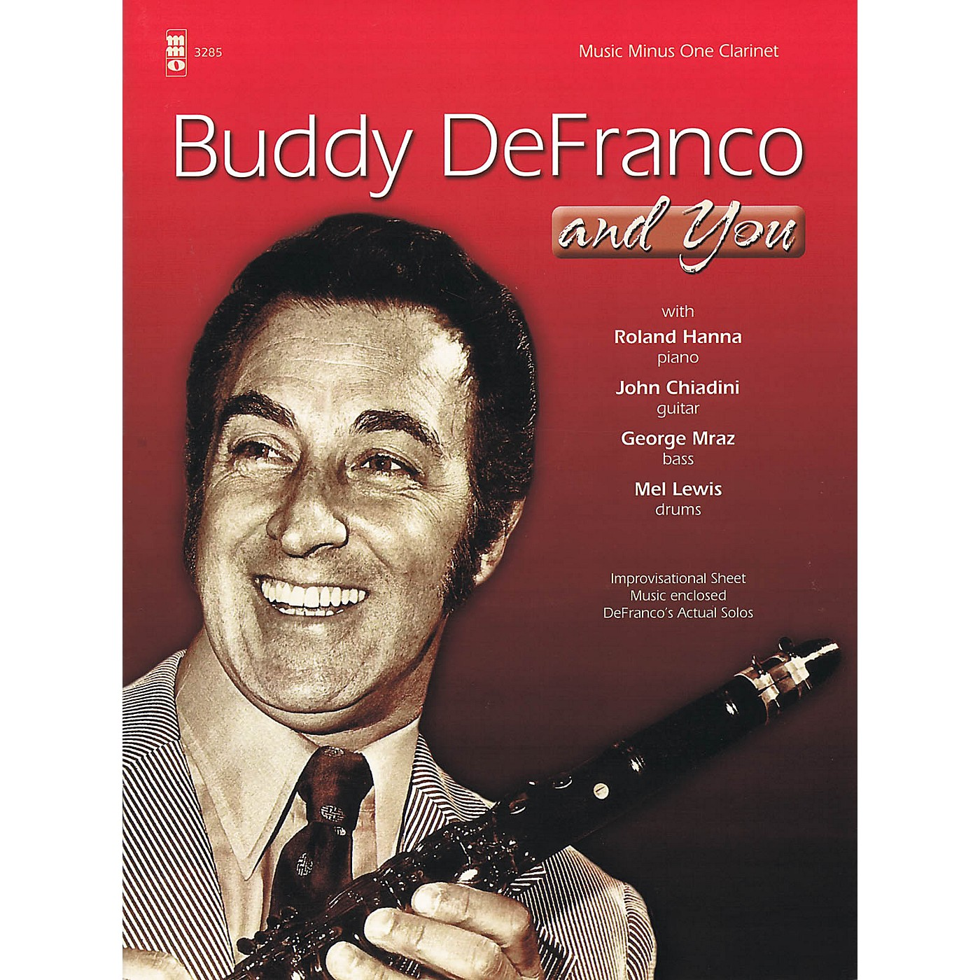 Music Minus One Buddy DeFranco and You Music Minus One Series BK/CD Performed by Buddy DeFranco thumbnail