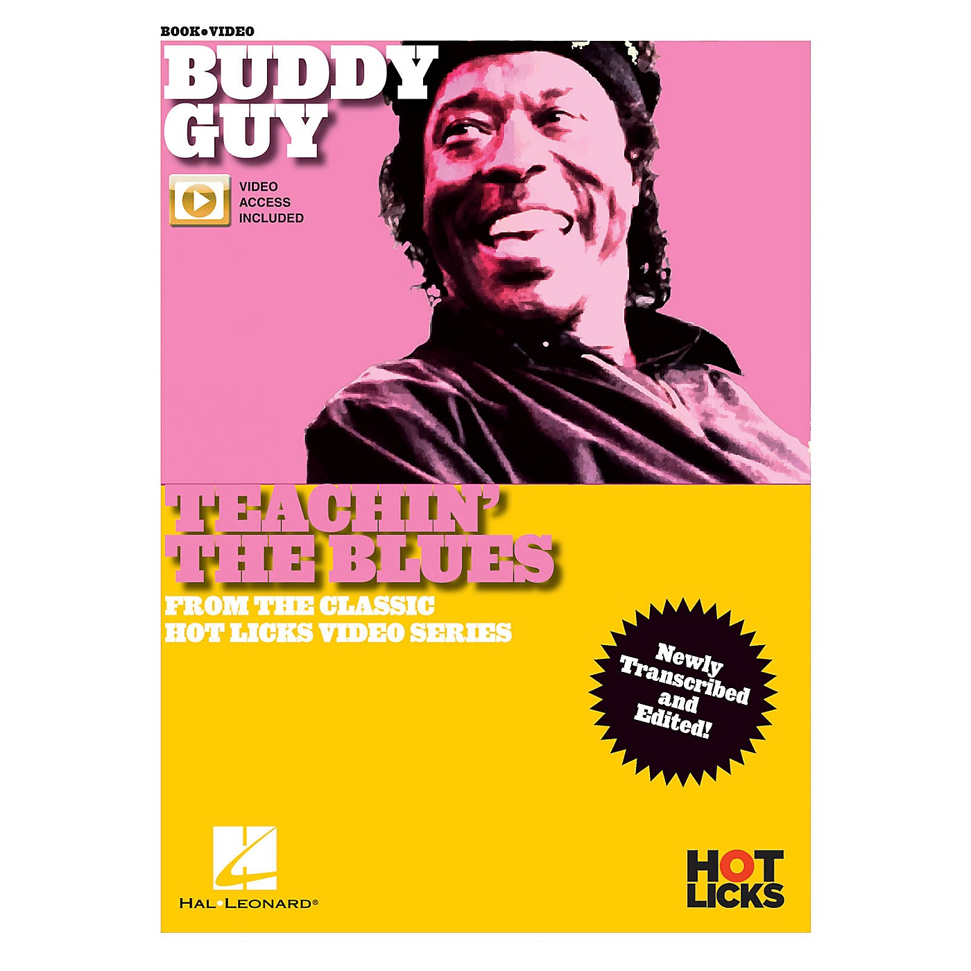Hal Leonard Buddy Guy - Teachin' the Blues From the Classic Hot Licks Video Series Book/Video Online thumbnail