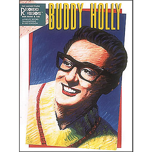 Hal Leonard Buddy Holly Guitar Tab Songbook With Notes And Tablature 2nd Edition thumbnail