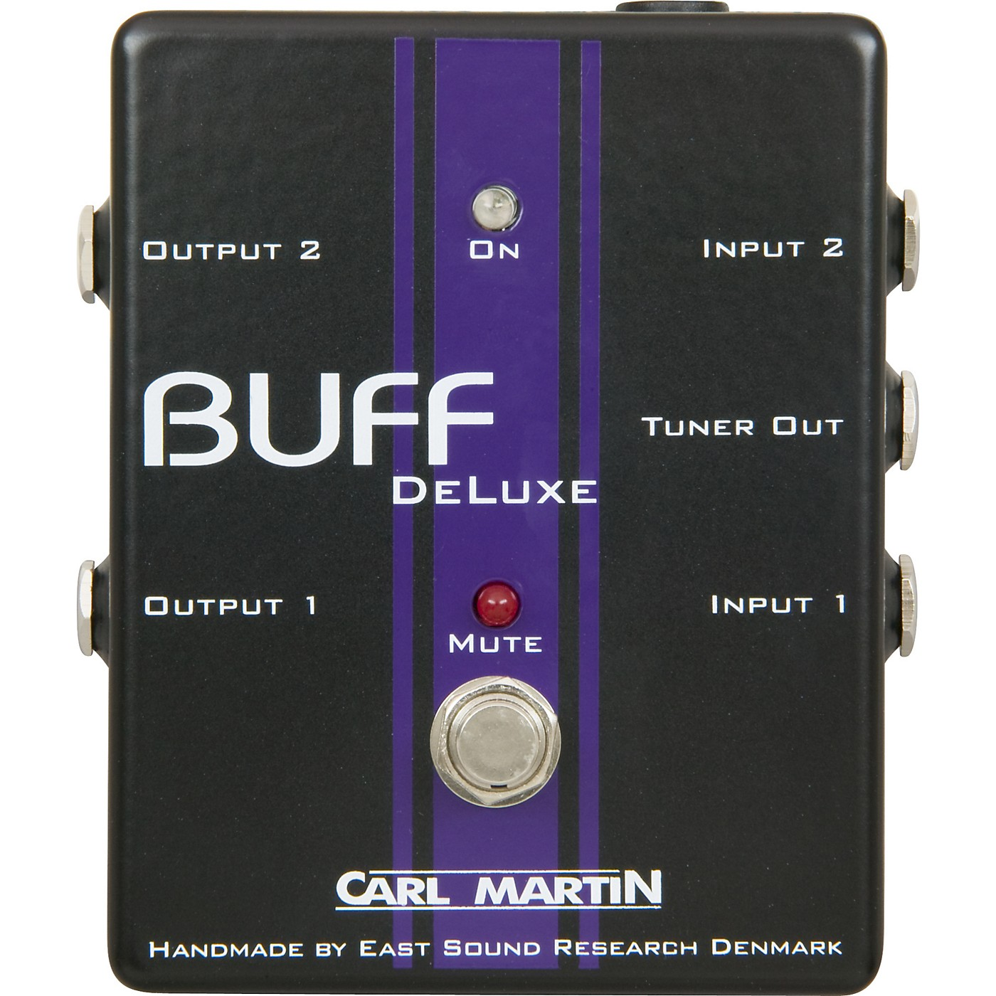 Carl Martin Buff Deluxe Boost Guitar Effects Pedal thumbnail