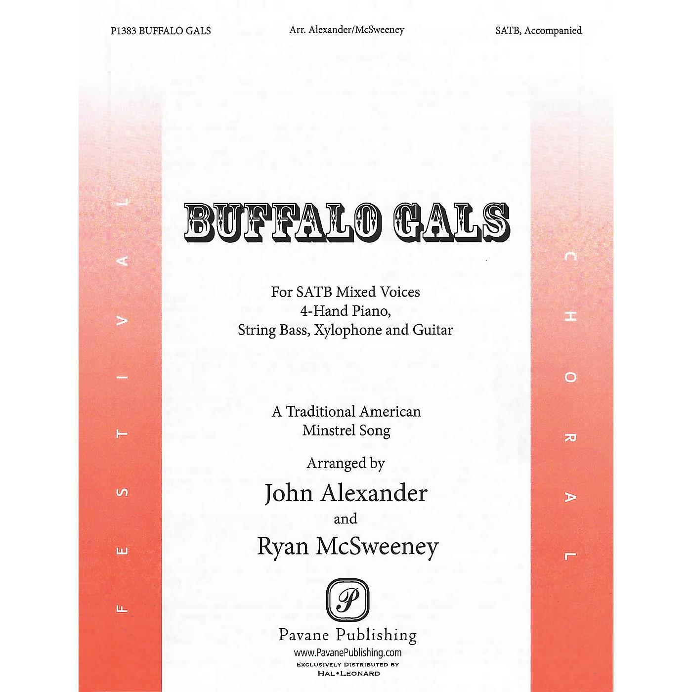 Pavane Buffalo Gals Score & Parts Arranged by John Alexander thumbnail