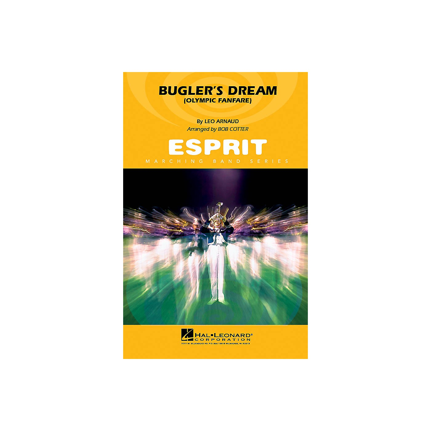 Hal Leonard Bugler's Dream (Olympic Fanfare) Marching Band Level 2-3 Arranged by Bob Cotter thumbnail