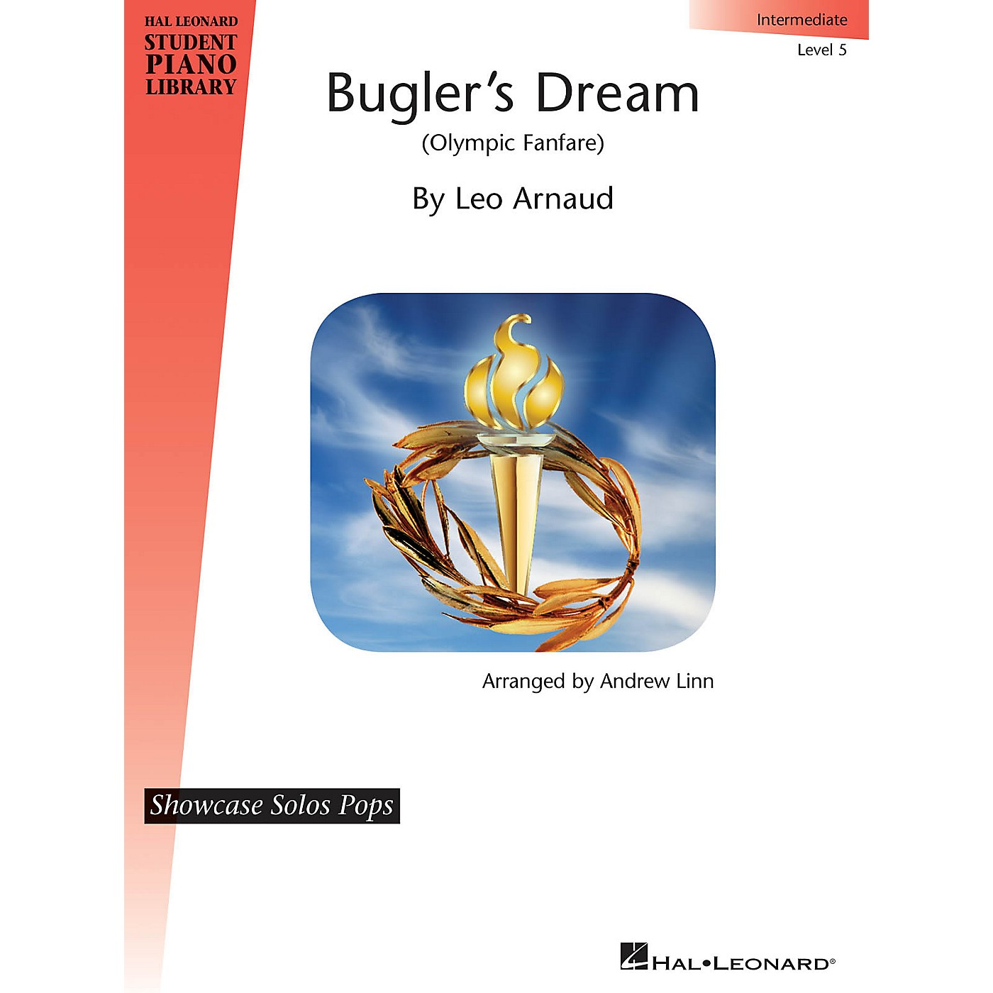 Hal Leonard Bugler's Dream (Olympic Fanfare) Piano Library Series Book by Leo Arnaud (Level Inter) thumbnail