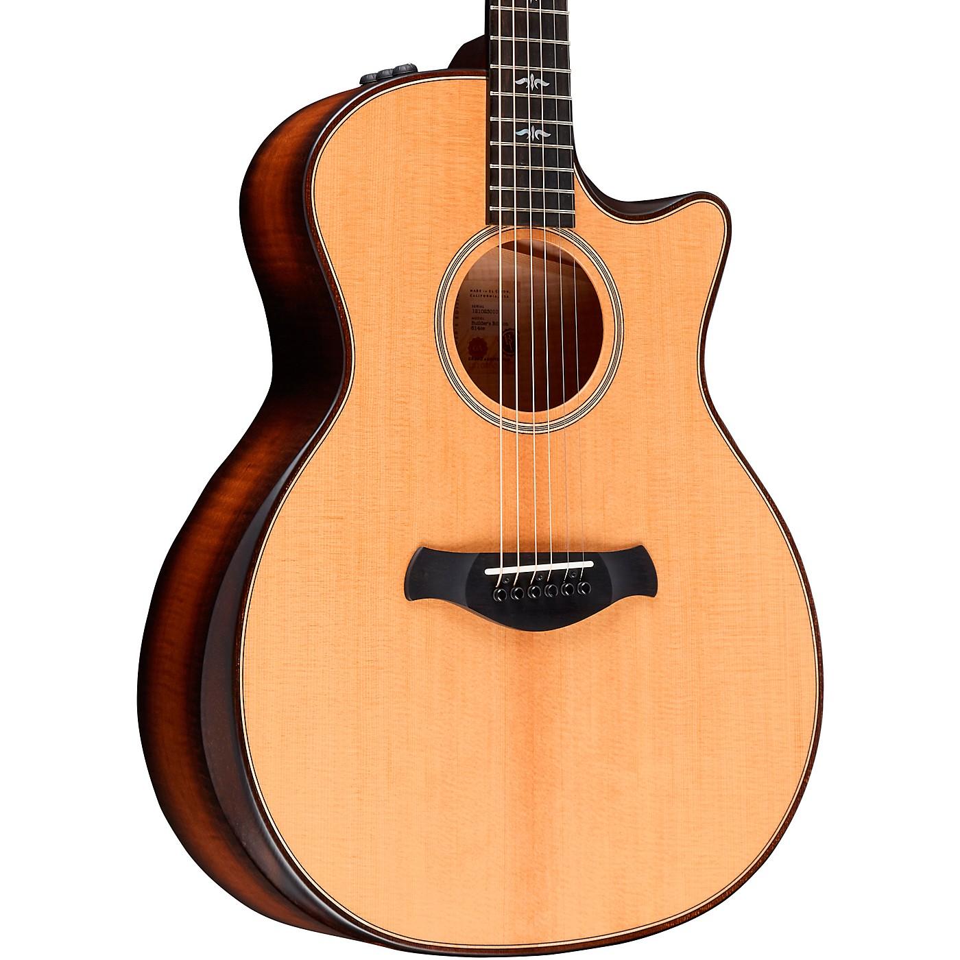 Taylor Builder's Edition 614ce V-Class Grand Auditorium Acoustic-Electric Guitar thumbnail