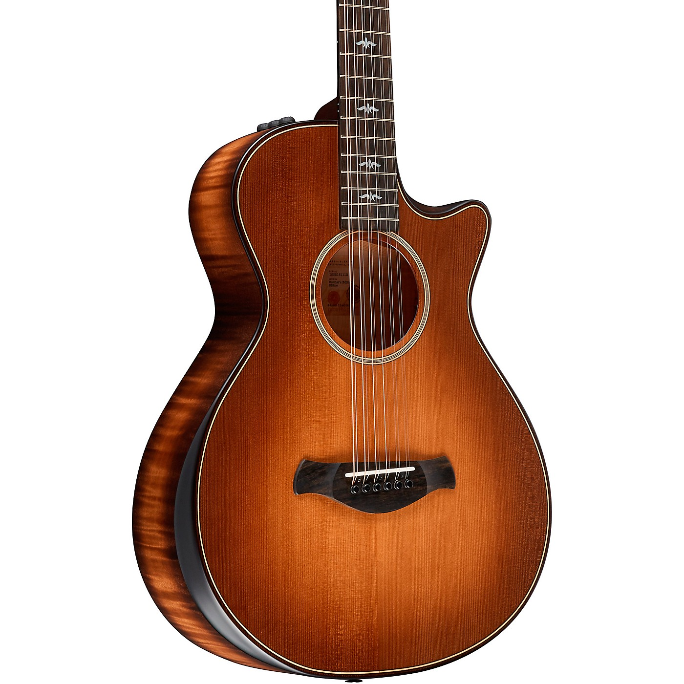 Taylor Builder's Edition 652ce V-Class 12-String Grand Auditorium Acoustic-Electric Guitar thumbnail