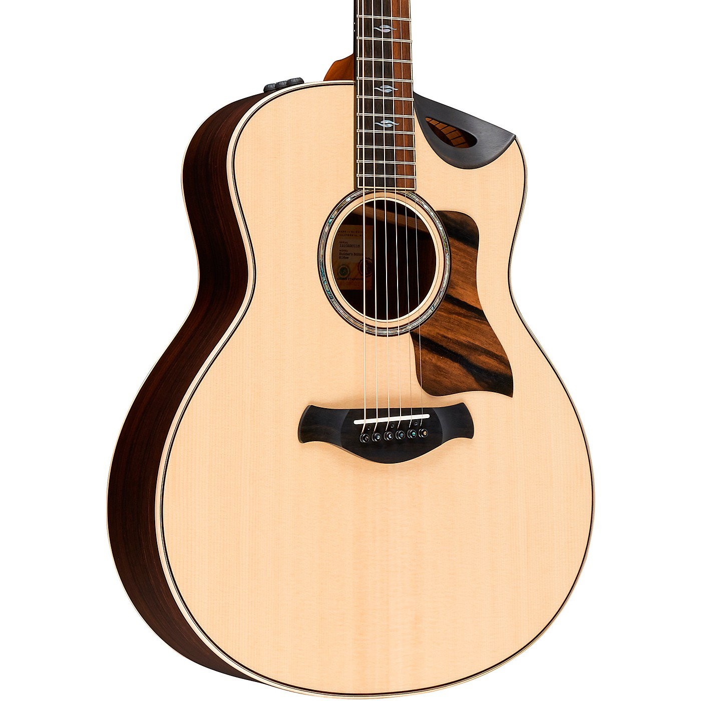 Taylor Builder's Edition 816ce Grand Symphony Acoustic-Electric Guitar thumbnail