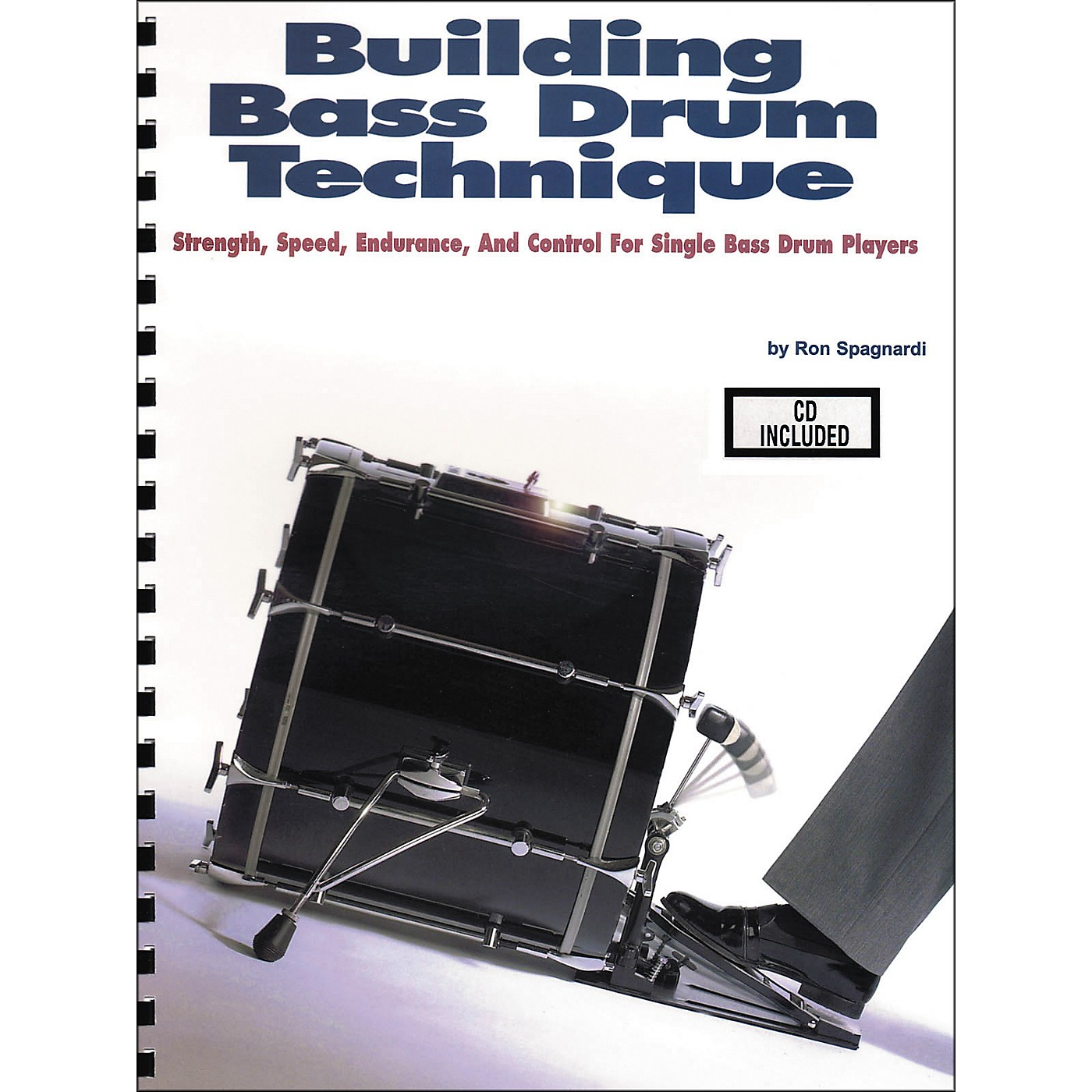 Modern Drummer Building Bass Drum Technique Book/CD thumbnail